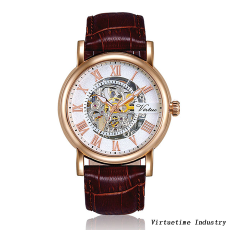 Mechanical Watch with stainless steel case